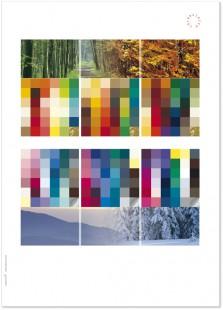 Poster 6 Jahreszeiten