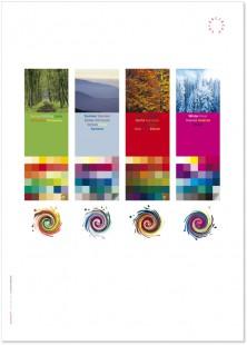 Poster 4 Jahreszeiten
